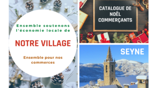 Catalogue de Noël commerçants de Seyne