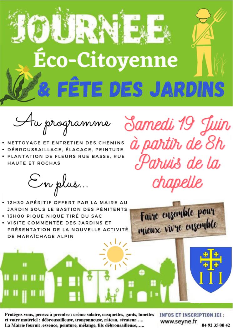 JOURNEE ECO-CITOYENNE LE 19 JUIN 2021