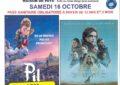 SEANCE CINEMA LE 16 OCTOBRE