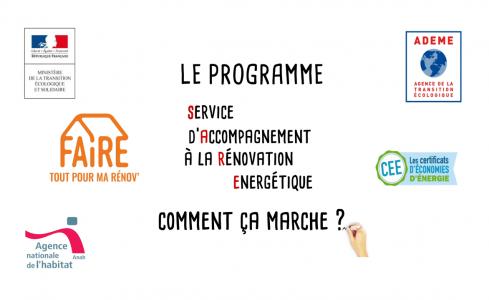 PERMANENCE DU SERVICE D'ACCOMPAGNEMENT A LA RENOVATION ENERGETIQUE